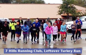 7 Hills Running Club, Leftover Turkey Run