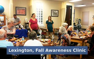 Lexington, Fall Awareness Clinic