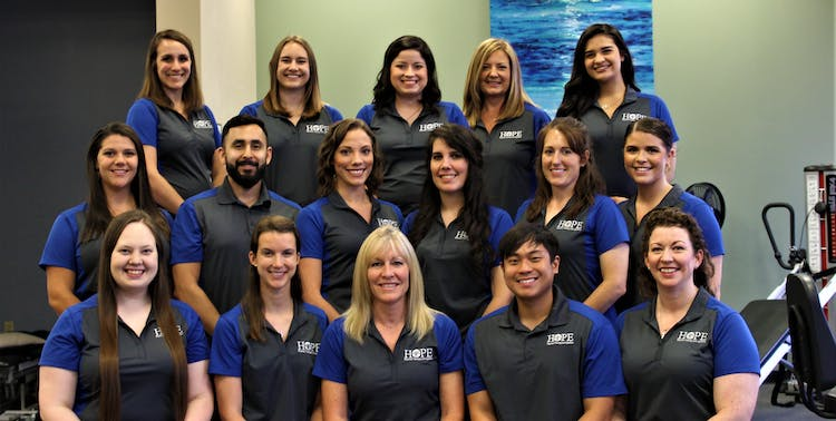 Hope Physical Therapy and Aquatics Staff
