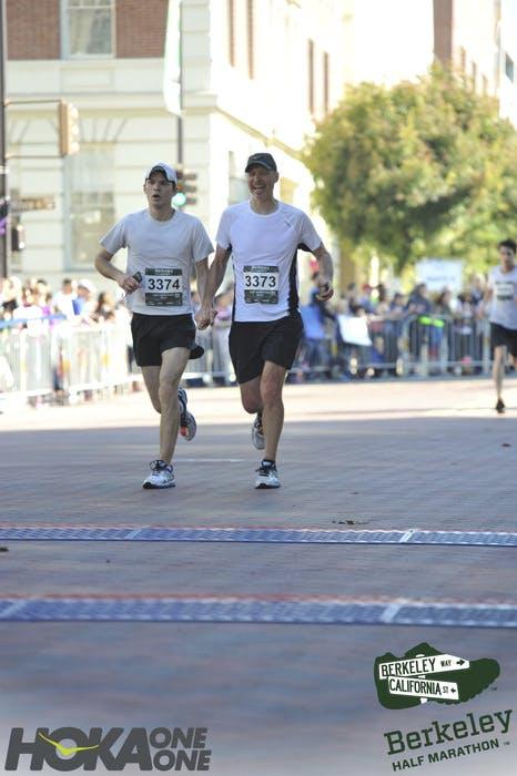 J. Kernion at berkeley Half Marathon