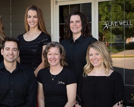 Live well Group shot 2016 - Physical Therapists in Grand Island, NE