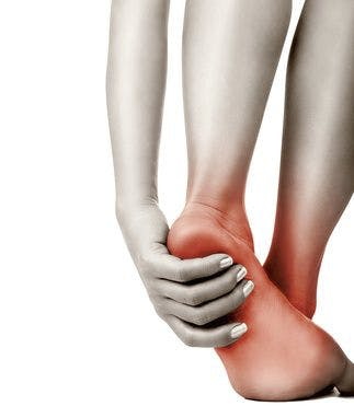 Foot pain from plantar fasciitis