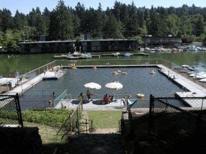 Lake Oswego Swim Park on the Willamette River