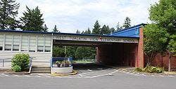 West Tualatin View Elementary School in the West Haven-Sylvan neighborhood.