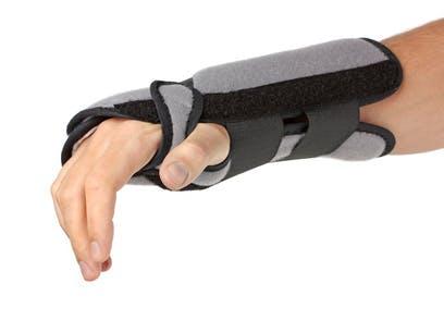 wrist sprain treatment with brace