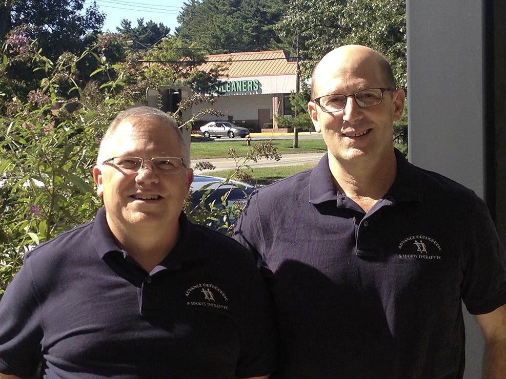 Mark Manfredi and Mitch Gottentag, Owners