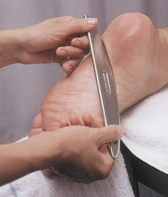 IASTM | Graston Technique performed on foot