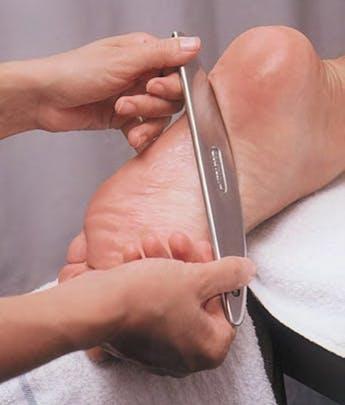 IASTM | Graston Technique performed on foot