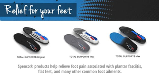 SPENCO - Relief for Your Feet