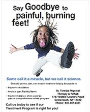 Burning Feet Ad