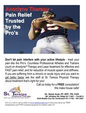 Anodyne Therapy - Pain Relief Flyer