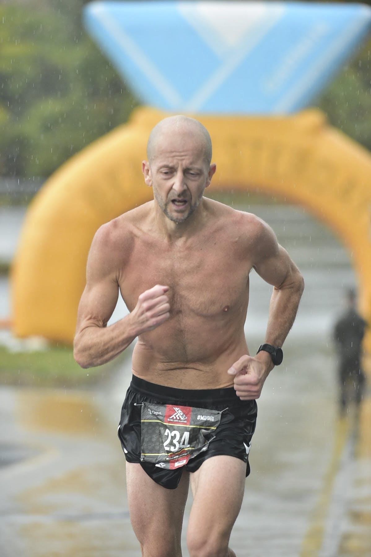 Boston Marathon at age 48