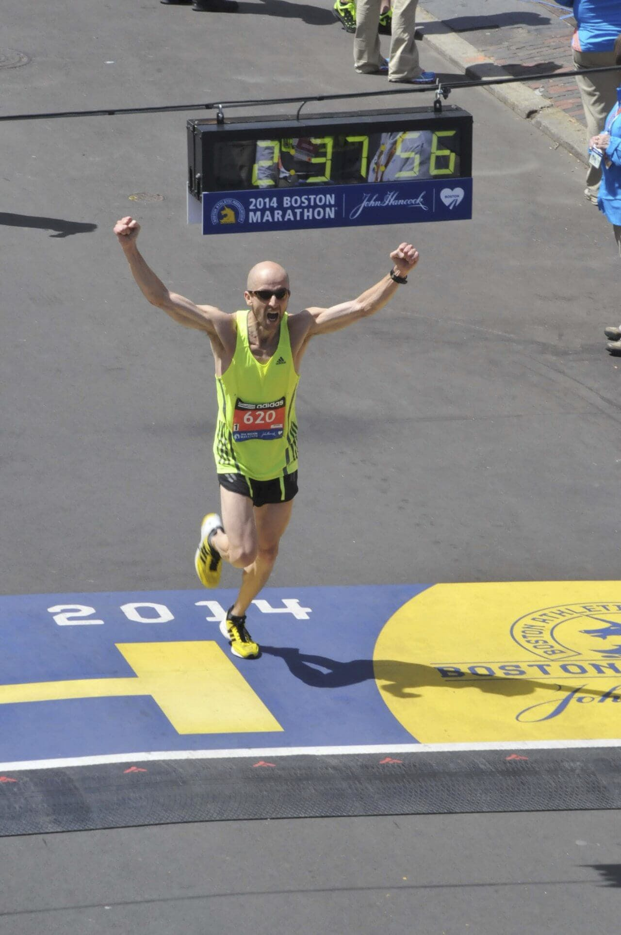Boston Marathon at age 48