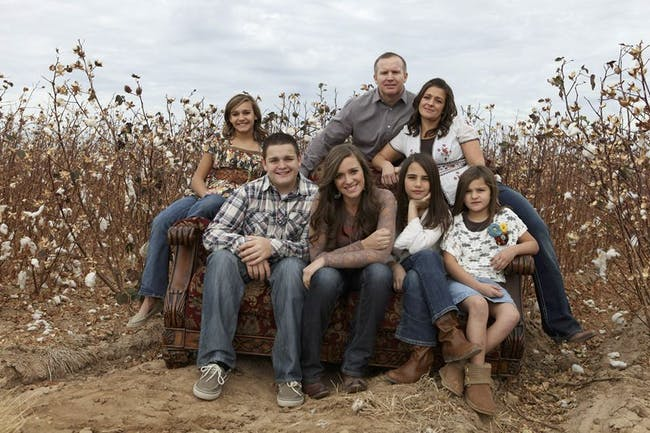 Marc Moore and his family