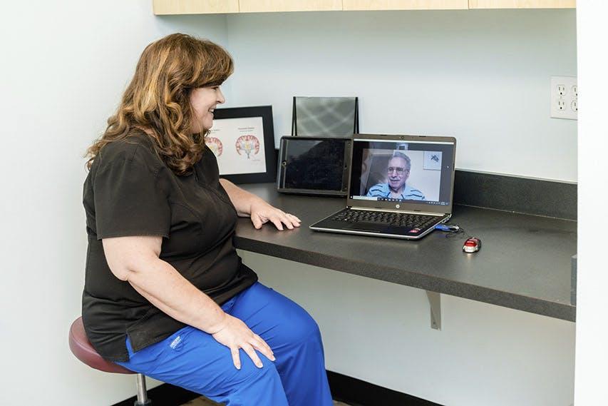 Parkinson's Health Center Patient