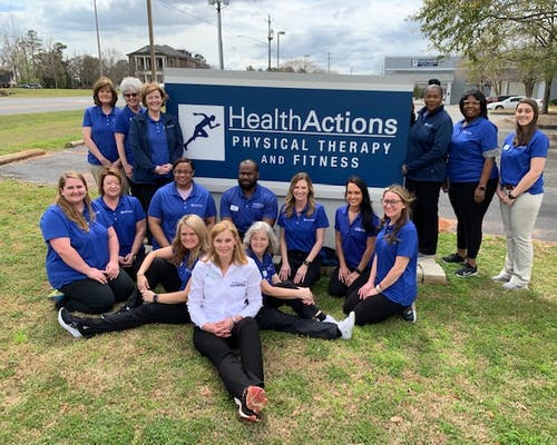physical therapy Jackson AL
