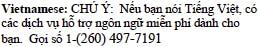 Vietnamese Tagline