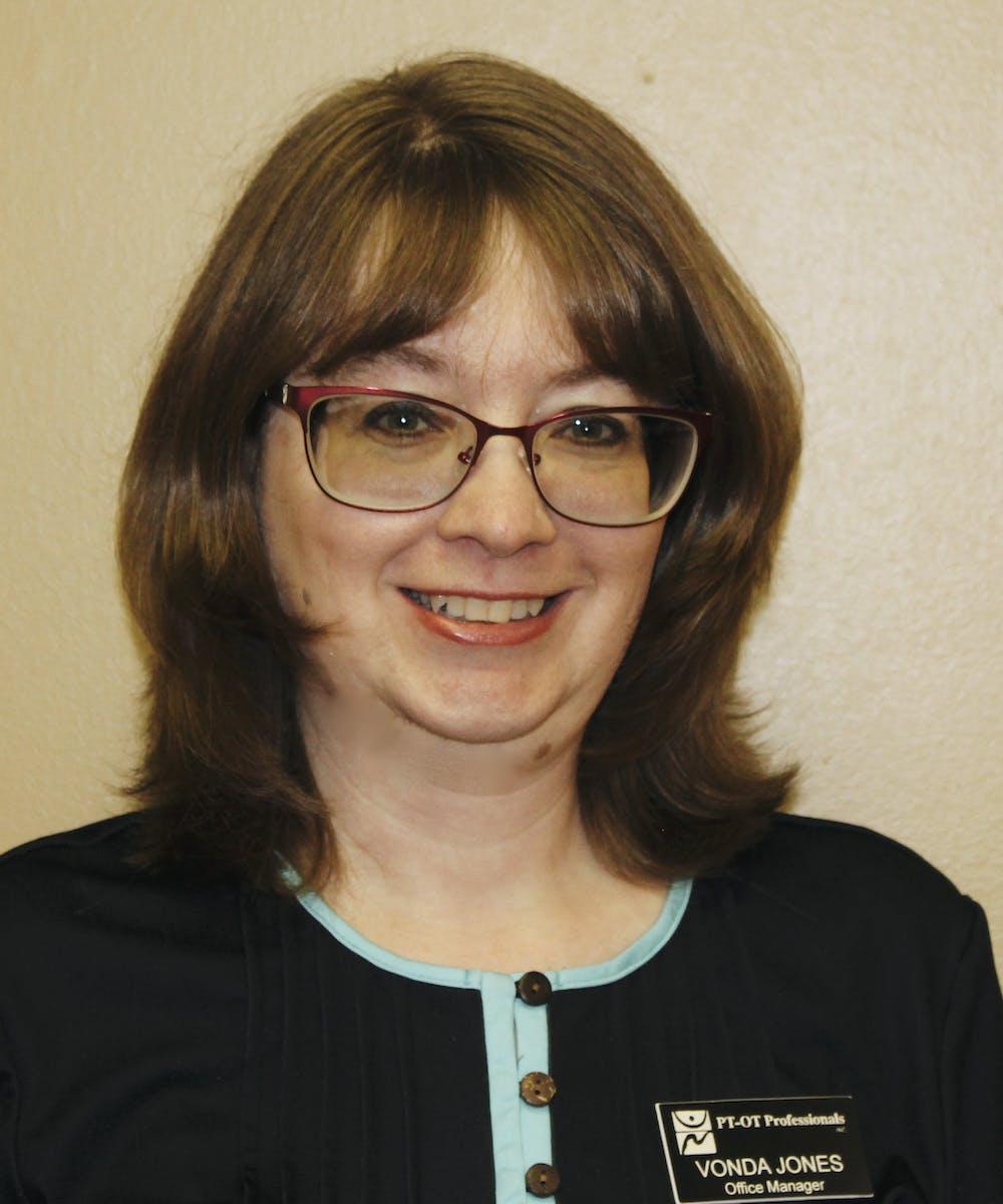 Vonda Jones, Office Manager