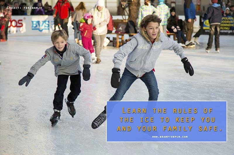 Learn the rules of the ice to keep you and your family safe.