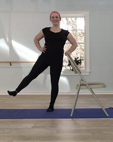 Chair Exercise and Chair Stretch