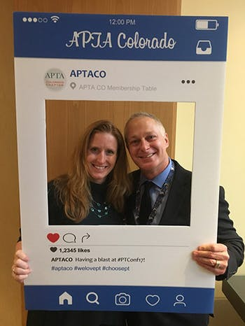 cott & Dy Rezac at APTA CO Convention 2017