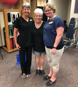 Physical Therapy Associates | Testimonials | Mrs.Cline