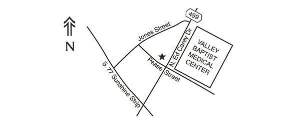 Harlingen Map
