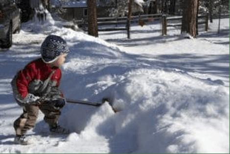 Snow Shoveling Strategies